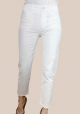 Jeans Skinny Color Blanco