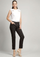 JEANS CROPPED  NEGRO